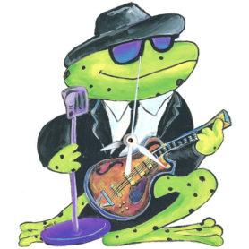 Whimsical frog